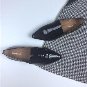 Calvin Klein Black Elin Loafer Size 6.5